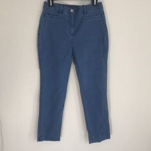 NWOT Blue Chico's ankle pants
